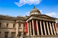 London National Galery in Trafalgar Square Stock Photos