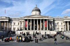 London - National Gallery Royalty Free Stock Photos