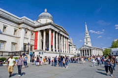 London  National Gallery Royalty Free Stock Photography
