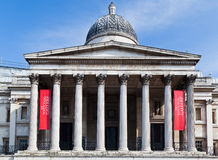 London-National Gallery lizenzfreies stockfoto