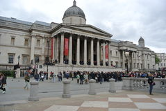 London National Gallery British Art Museum Royalty Free Stock Photos