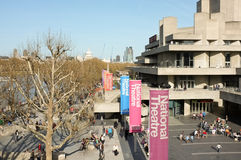 London National Theatre royalty free stock images