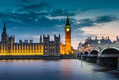 london natt Royaltyfria Bilder