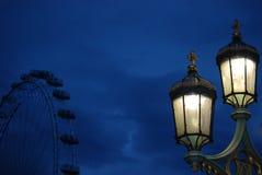 london natt Arkivbild