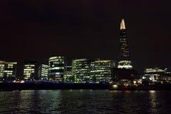 london natthorisont Arkivbilder