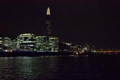 london natthorisont Royaltyfria Bilder