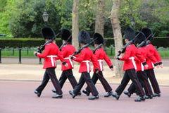 London - ändra av guarden Royaltyfria Foton