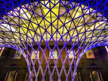 London New Stations - Kings Cross royalty free stock photo