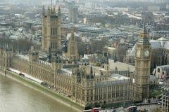 london nieba widok zdjęcia stock
