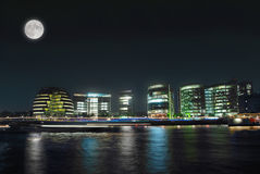 London by night. City Hall in London by night Stock Photography