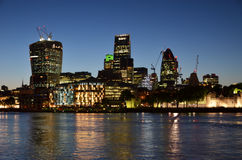 London at night Stock Photo