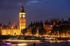 London at night Stock Photography