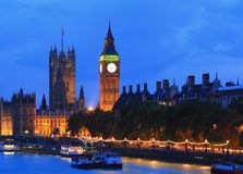 London at night Royalty Free Stock Photos