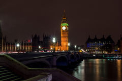 London at night Royalty Free Stock Photography