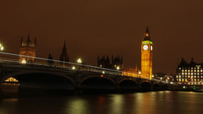 London (night) Royalty Free Stock Photography