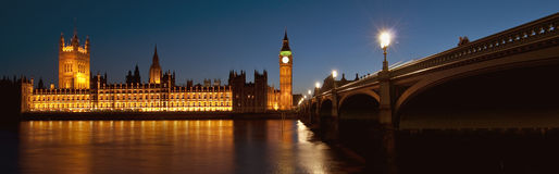 London_Night_Scene Photographie stock