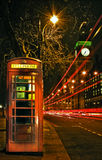 London Night Scene Stock Image