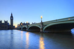 London night skyline of Parliament