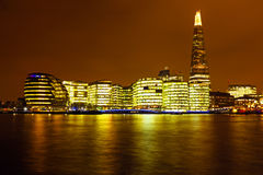 London at night UK Royalty Free Stock Photo