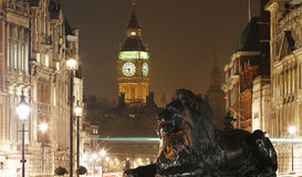 London Night View, include Big Ben Royalty Free Stock Photography