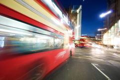 London nightlife Stock Photography
