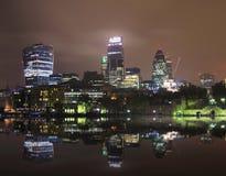 London nightscape Stock Image