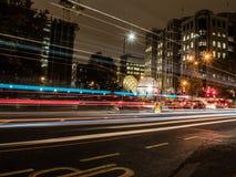 London ninght Royaltyfri Foto