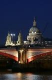 london noc Fotografia Royalty Free