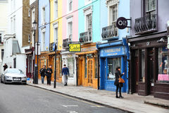 London - Notting Hill Royaltyfria Bilder