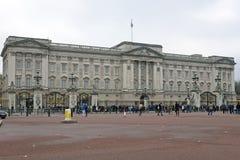 LONDON - 28. November: Buckingham Palace, London, England auf Nove Stockbild