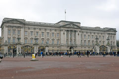 LONDON - November 28: Buckingham Palace, London, England on Nove Stock Image
