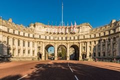 A typical view in London royalty free stock photography