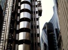 London nowoczesna architektura zdjęcia stock