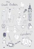 London Objects Royalty Free Stock Photos