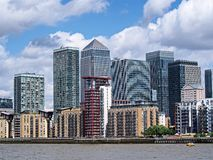 London office buildings Royalty Free Stock Photography