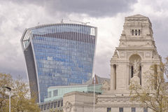 London, old and new Royalty Free Stock Photo