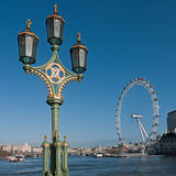 London old and new, square crop Royalty Free Stock Images