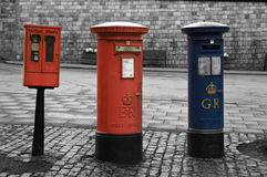 London old post box, England Stock Images
