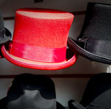in london old red  and black  the  fashion shop Stock Images