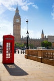 London old red Telephone box Stock Photography