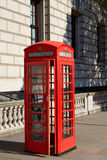 London old red Telephone box Royalty Free Stock Photos