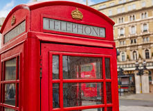 London old red Telephone box Stock Image