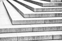 in london old steps and      marble ancien line Stock Photography