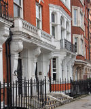 London, old townhouses Royalty Free Stock Image