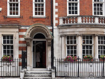 London, old townhouses Stock Image