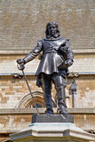 London - The Oliver Cromwell memorial Stock Photography