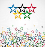London Olympic Games 2012 vector background Stock Photos