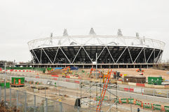 london olympic stadion 2012 Royaltyfri Bild