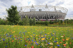 London olympic stadion 2012 Royaltyfri Fotografi