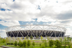 London Olympic Stadium. The famous Olympic Stadium that was built especially for the 2012 Olympic Games Stock Images